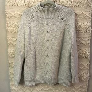 Women's Turtleneck Cable Knit sweater